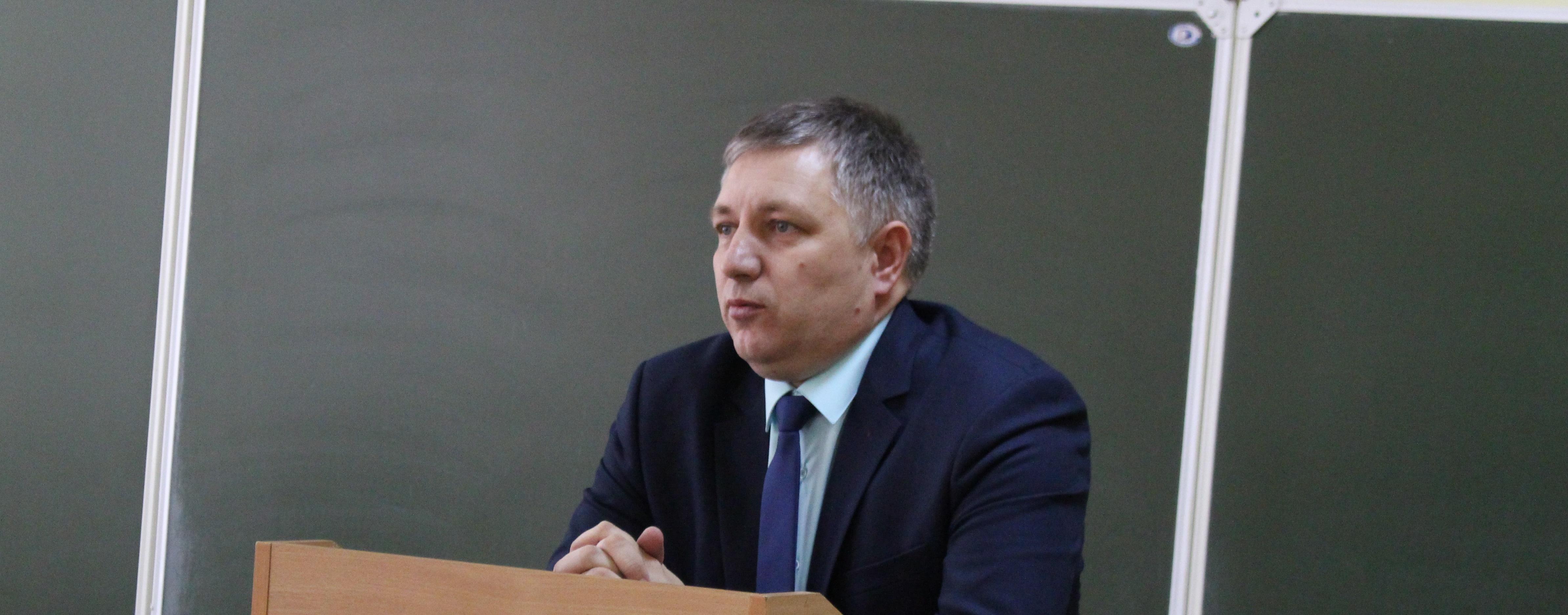 встреча студентов 5 курса с заместителем начальника Управления МВД России по г. Челябинску