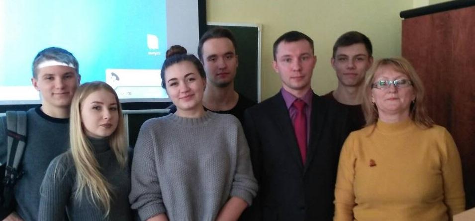 Мастер-класс представителя регионального отделения  Интерпола по Челябинской области