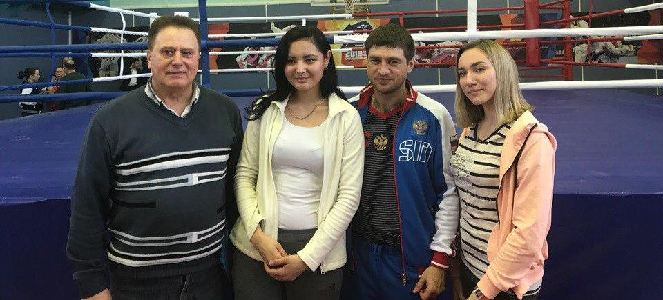 Мастер-класс для студентов по боксу