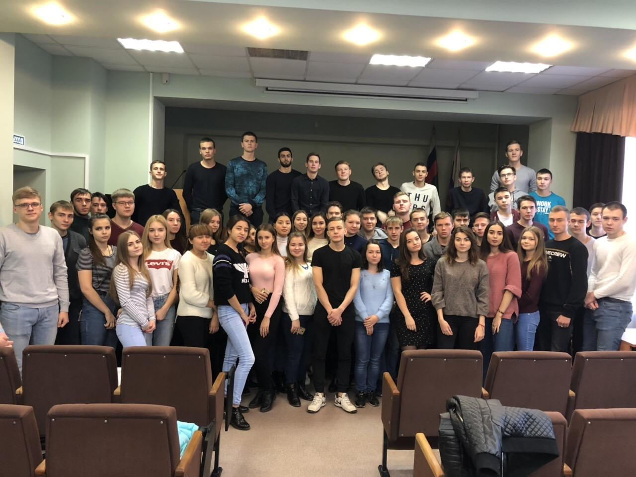 Студенты на Дне открытых дверей в Управлении Федеральной службы судебных приставов по Челябинской области